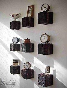 Nábytok - Dekoračné poličky rustic - 8829099_
