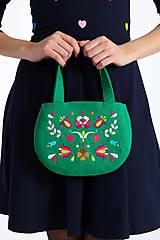 Kabelky - Cute bag zelená - 8832338_