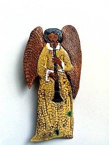 """Odznaky/Brošne - """"anjelská brošnička"""" pre krásne žienky s čistou dušičkou, aj pre hudobníkov - 8833772_"""