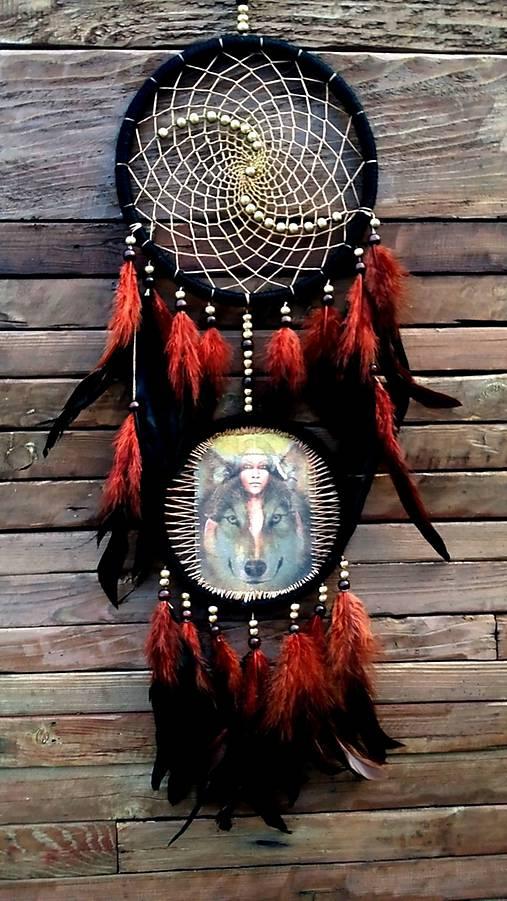Lapač snov -Indiánka  :)