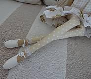 Bábiky - Béžová s ružičkami - 8831162_