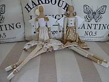Bábiky - Béžová s ružičkami - 8831164_