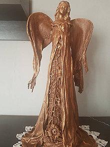 Dekorácie - Anjel z paverpolu - 8834444_