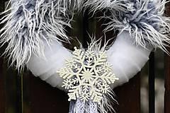 Dekorácie - Vianočný venček - 8830216_