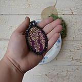 Náhrdelníky - Achátový n.5 šitý náhrdelník - 8833397_