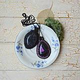Náhrdelníky - Achátový n.6 šitý náhrdelník - 8833421_
