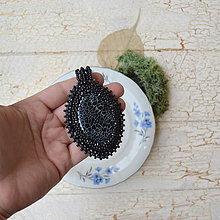 Náhrdelníky - Achátový n.5 šitý náhrdelník - 8833395_