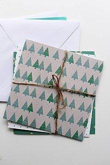 Papier - Sada vianočných pohľadníc - 8831365_