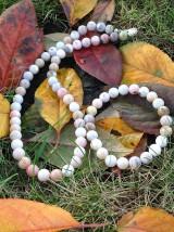 Sady šperkov - Ružový andský opál - sada šperkov - 8833589_