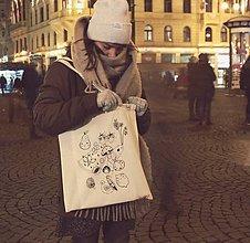Nákupné tašky - Nákupná taška Zelovocníčkovia - 8834089_