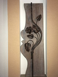 Dekorácie - Kovaný kvet - 8833718_