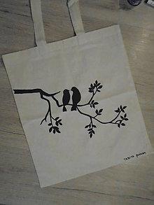 Nákupné tašky - Maľovaná taška - 8832162_