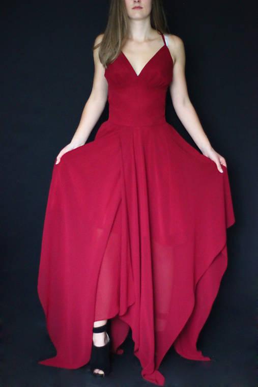 Spoločenské šaty V Vojtanikova   Dyona - SAShE.sk - Handmade Šaty 0d38c1034ba