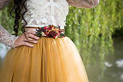 Opasky - Kvetinový opasok
