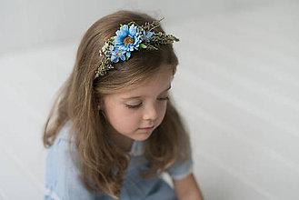 "Ozdoby do vlasov - Detský venček ""obláčik"" - 8829789_"