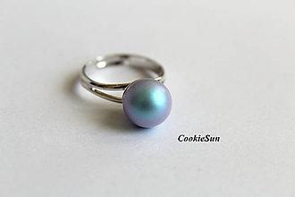 Prstene - Prsteň Swarovski PearIs Iridescent Light Blue - 8832083_