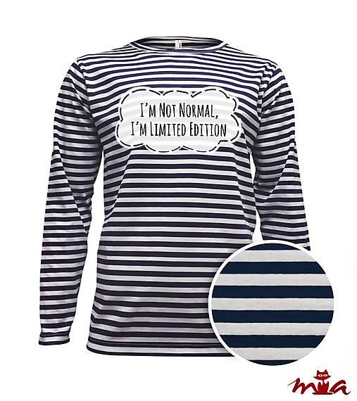 ecf208d635cc Pánske dlhorukávové tričko s vlastným nápisom   MIA-made - SAShE.sk ...