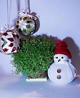 - Vianoční snehuliaci - 8834226_