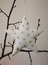 Dekorácie - Vianočná hviezdička 1  - 8829279_