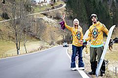 Mikiny - Navajo tribal winter - termo mikina - 8833858_
