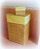 Košíky - Kôš na použité prádlo - XL - 8830125_