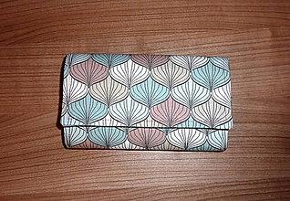 Peňaženky - Peňaženka - Pastelová - 17 - 8828965_