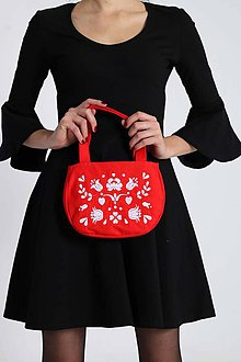 Kabelky - Cute bag červená - 8835428_