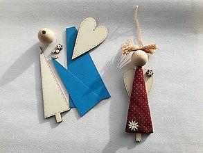 Hračky - Kreatívna sada na výrobu anjelíčka - 8835511_