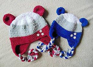 Detské čiapky - Plyšová pre chlapca či dievča 2 :) - 8838073_