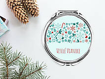 Zrkadielka - Zrkadielko Veselé Vianoce - 8836354_