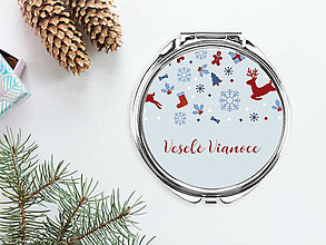 Zrkadielka - Zrkadielko Veselé Vianoce I - 8836371_