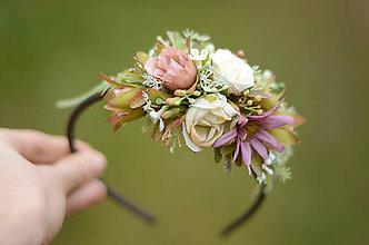 Ozdoby do vlasov - Jeseň v záhrade - 8839995_