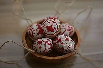 Dekorácie - vianočné oriešky - 8840254_