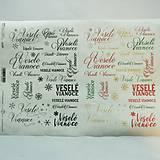 - Ryžový papier na decoupage - A4-R1289 - Veselé Vianoce - 8838103_
