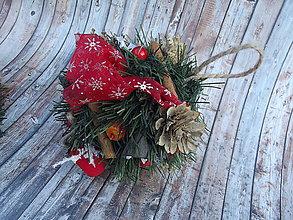 Dekorácie - závesná vianočná guľa - 8839182_