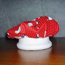 Čiapky - kuchárska čiapka pre malých pomocníkov - 8838771_