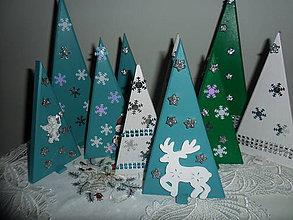 Dekorácie - Vianočné stromčeky. - 8837794_