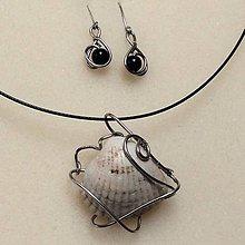 Sady šperkov - sada šperkov s Mušľou - 8835414_