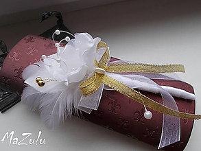 Pierka - svadobné pierko pre ženícha - 8836793_