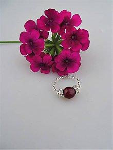 """Prstene - """"Rubín""""prsteň flexibilný - 8836419_"""