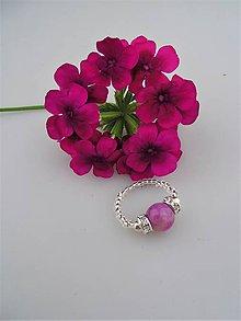 Prstene - jadeit hrebíček prsteň - 8839411_