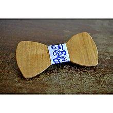 Doplnky - Folklórny drevený motýlik - 8839052_