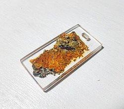Náhrdelníky - Lišajníkový šperk - 8834721_