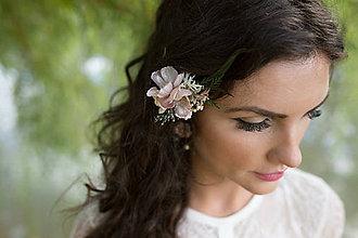 Ozdoby do vlasov - Výpredaj z 15 eur Kvetinový hrebienok