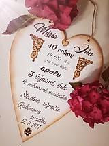 Tabuľky - Výročie svadby - 8839628_