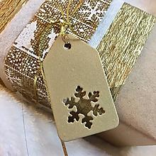 Papiernictvo - Visačky vianočné - 8837816_