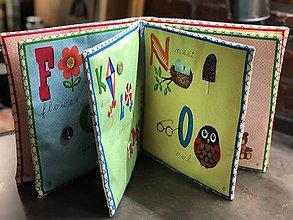 Hračky - Abecedná quiet book - 8838758_