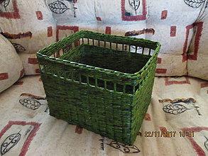 Košíky - green - koš - 8837200_
