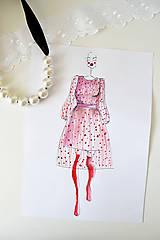 Kresby - Fashion sketch A4 - 8839423_