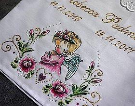 Detské oblečenie - košieľka na krst - 8844651_